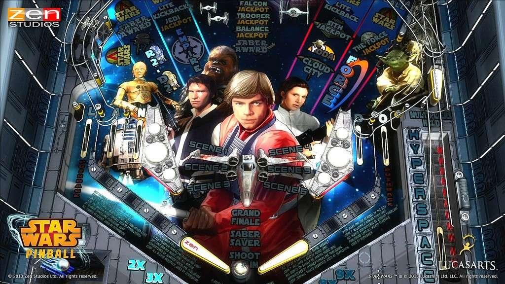 Star Wars Pinball Strbac18