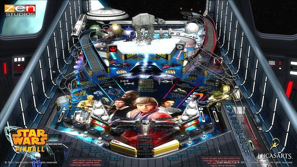 Star Wars Pinball Strbac19