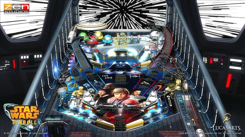 Star Wars Pinball Strbac20