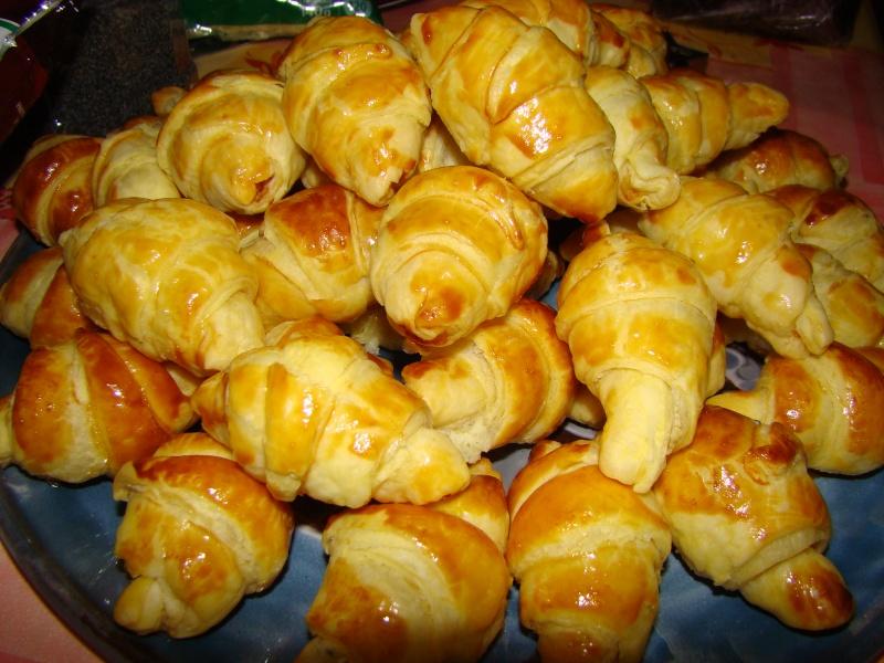 croissants au saumon d'Anne-Laure Dsc05621