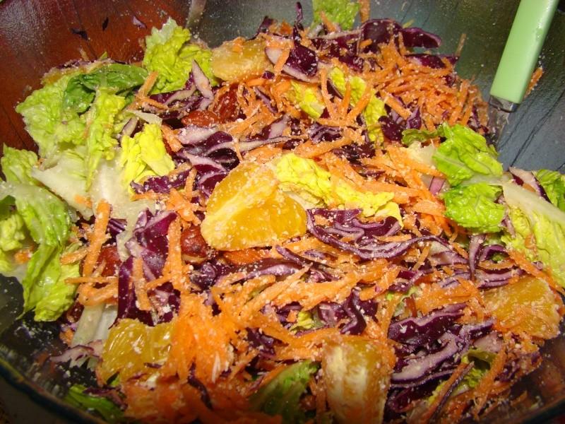 S10 du 14 au 20 janvier 2013 : Salade Chou Rouge Dsc06110