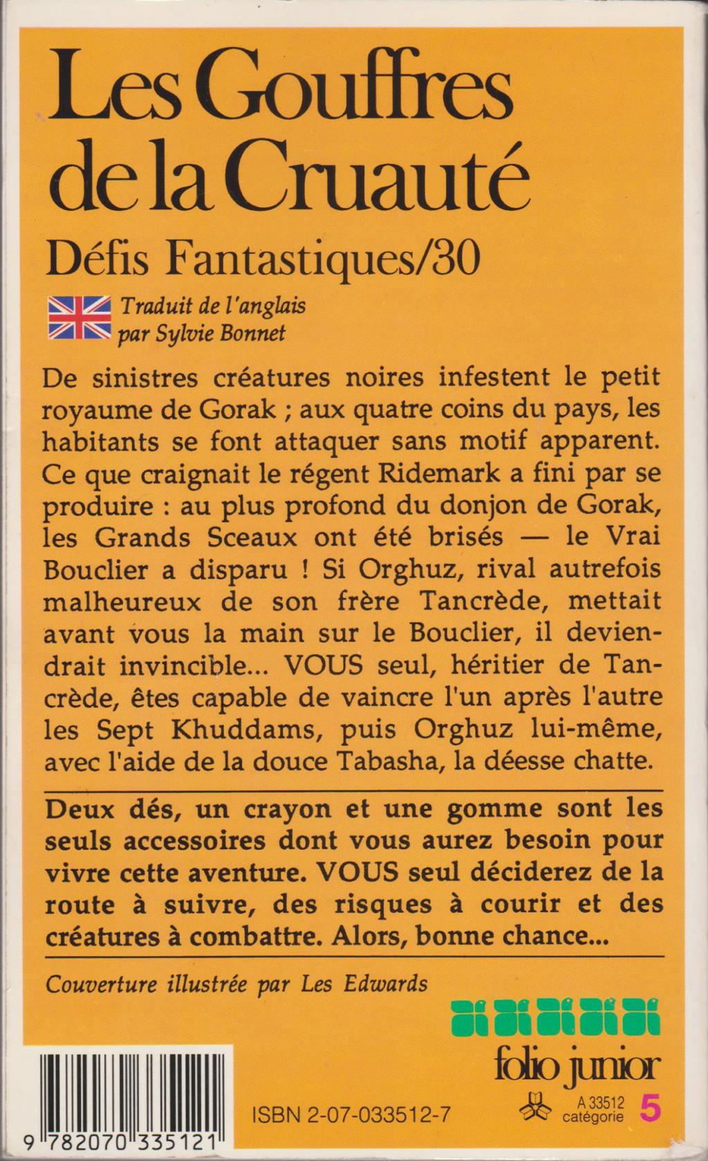 Catalogue bibliographique de la série Défis Fantastiques - Page 3 11458810