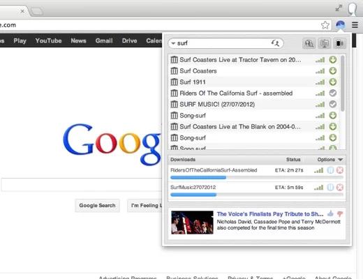 BitTorrent Surf -  Κατεβάστε torrents χρησιμοποιώντας το πρόγραμμα περιήγησης σας Bittor11