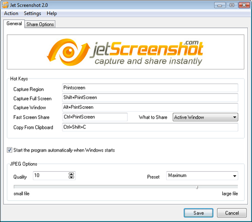 Jet Screenshot 3.1.0.0 Jetscr10