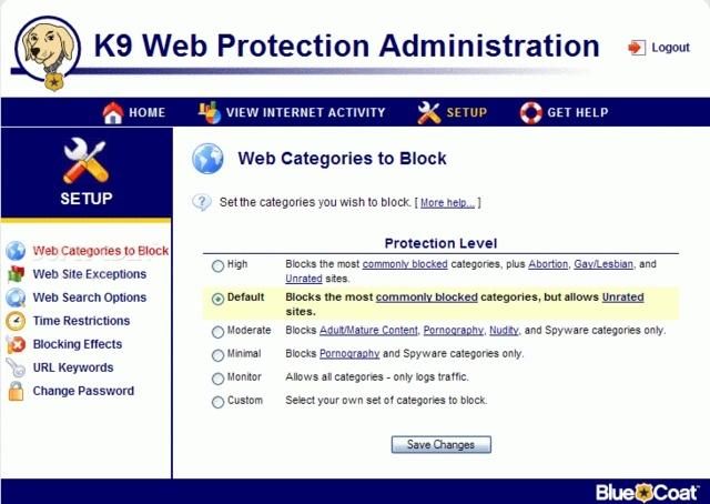 K9 Web Protection 4.4 - ελέγχει το περιεχόμενο του Διαδικτύου που σερφάρετε K9webp10