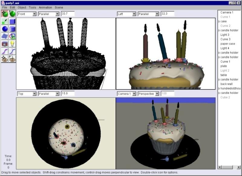 Art of Illusion 2.9.2 - Ένα πλήρες εξοπλισμένο στούντιο 3D modeling, rendering, animation Main10