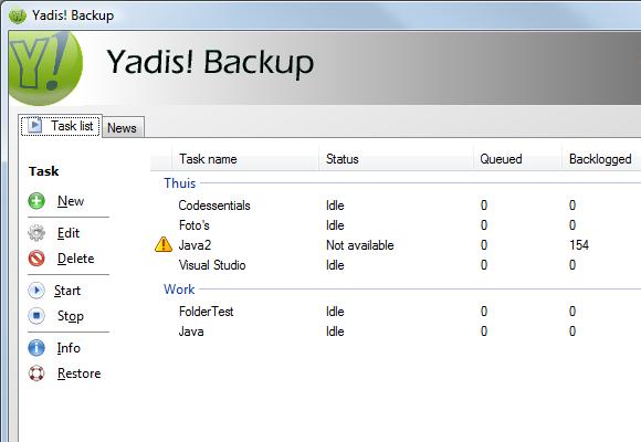 Yadis! Backup Version: 1.10.15 Master10