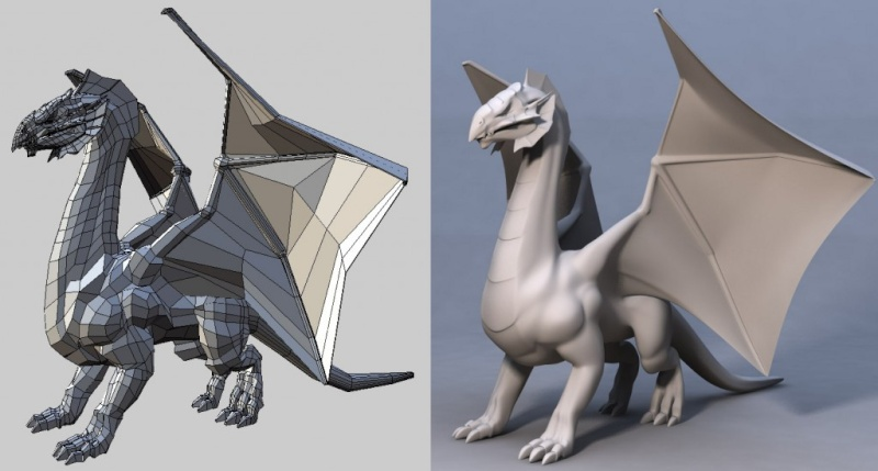 Wings 3D 1.4.1 - Δημιουργία 3D μοντέλων γραφικών Protod10