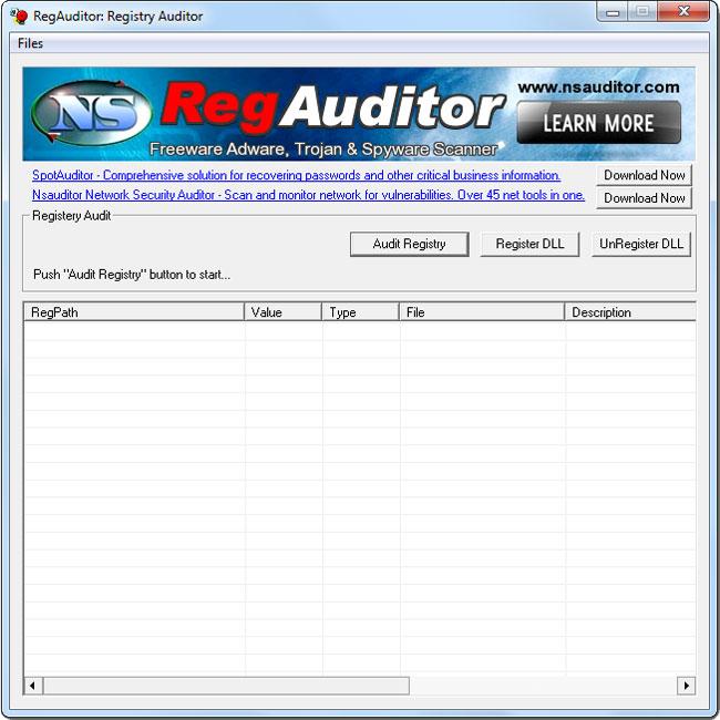 RegAuditor 2.4.5 - Δείτε για adware και spyware στον υπολογιστή σας Regaud10