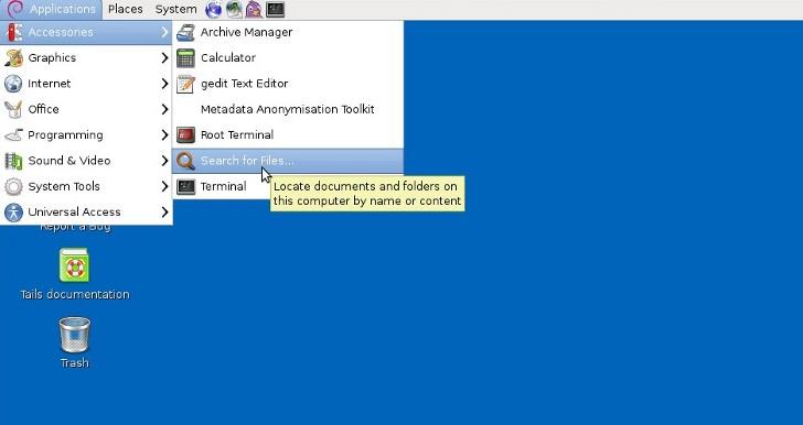 Tails 2.5 - Μια διανομή Linux για να σερφάρετε ανώνυμα Tails-10