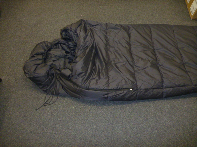 New Hybrid sleeping bag P1020510