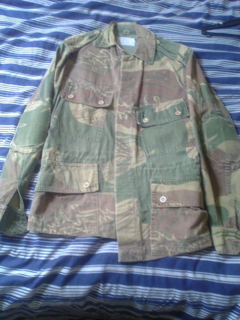 Tailored Camo Bush Jacket Photo114