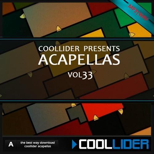 Acapellas Vol.33 de Coollider Coolli11