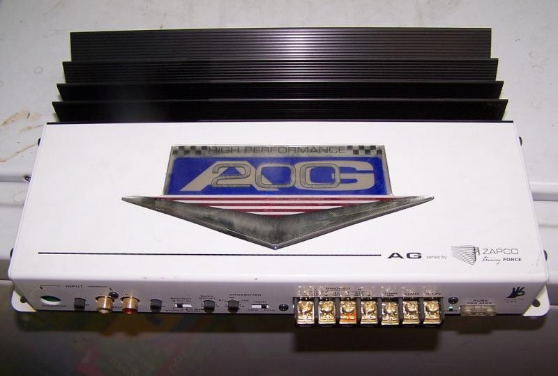Zapco Amplifier 35480410