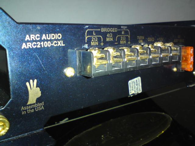 Arc Audio Amp (Sold) Dsc00838