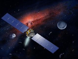 Les sondes spatiales en activité et en développement Dawn10