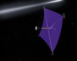 Les sondes spatiales en activité et en développement Ikaros10