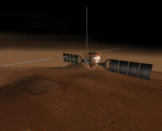 Les sondes spatiales en activité et en développement Mars_e10