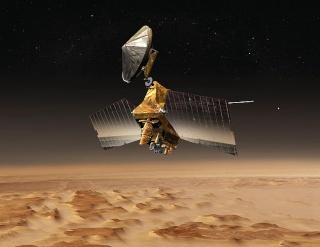 Les sondes spatiales en activité et en développement Mro10