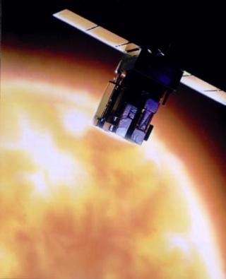 Les sondes spatiales en activité et en développement Soho10