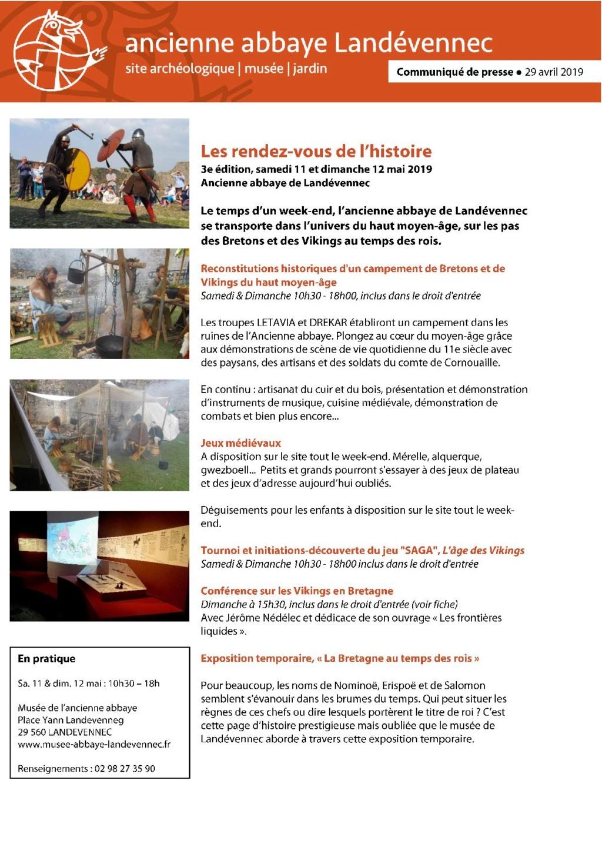 La Mêlée du Bout du Monde - 11 et 12 Mai 2019 à Landévennec - Page 3 Cp_lan10