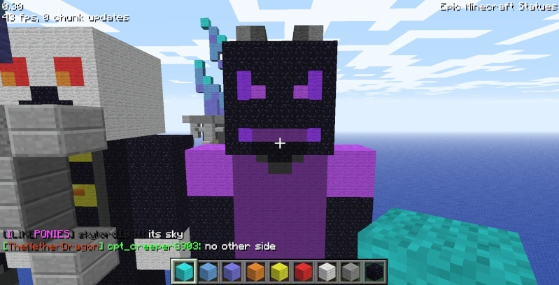 Epic Minecraft Statues Screen15