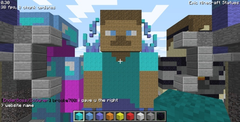 Epic Minecraft Statues Screen18
