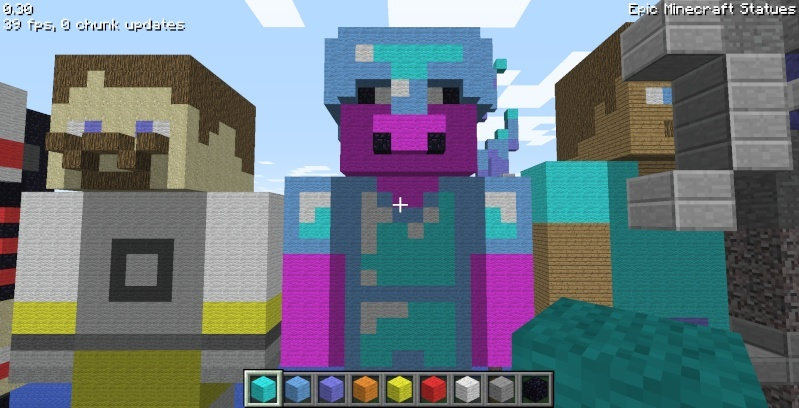 Epic Minecraft Statues Screen19