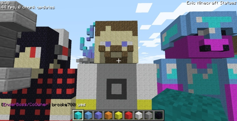 Epic Minecraft Statues Screen20