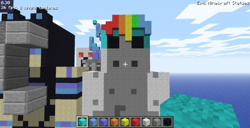 Epic Minecraft Statues Screen22