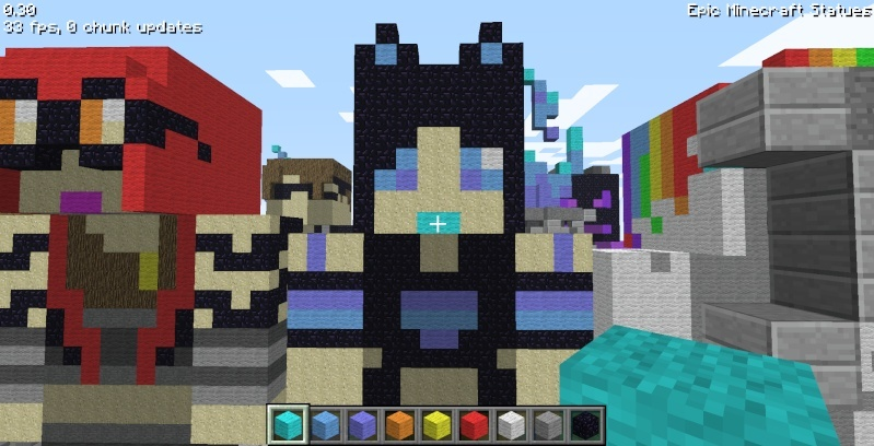 Epic Minecraft Statues Screen23
