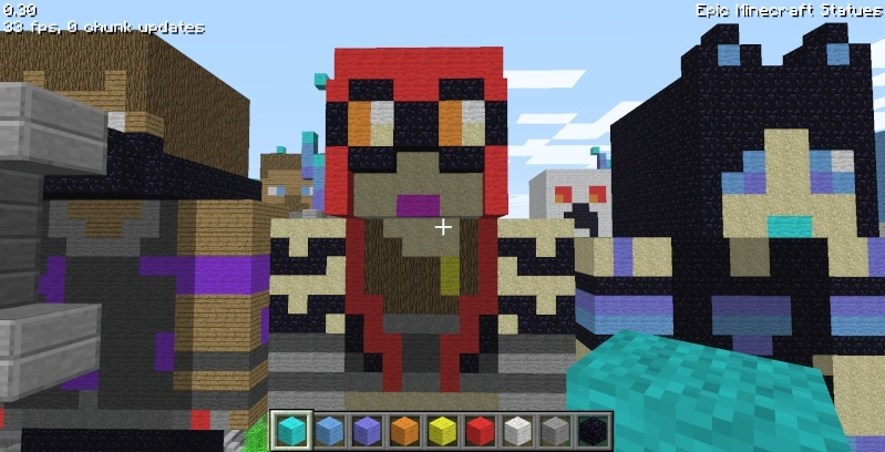 Epic Minecraft Statues Screen24
