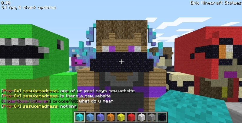 Epic Minecraft Statues Screen25