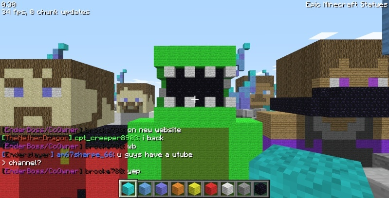 Epic Minecraft Statues Screen26