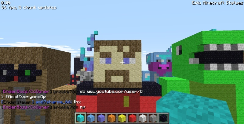Epic Minecraft Statues Screen27