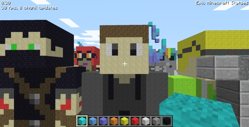 Epic Minecraft Statues Screen30