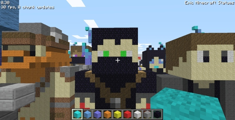 Epic Minecraft Statues Screen31
