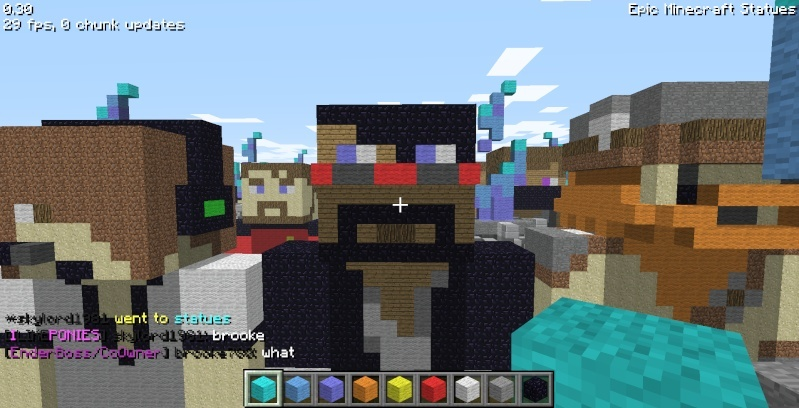 Epic Minecraft Statues Screen33