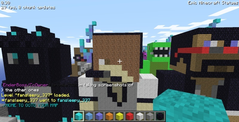 Epic Minecraft Statues Screen34
