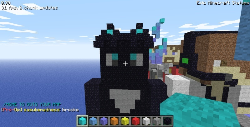 Epic Minecraft Statues Screen35