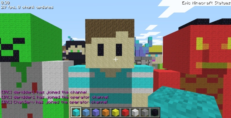 Epic Minecraft Statues Screen37