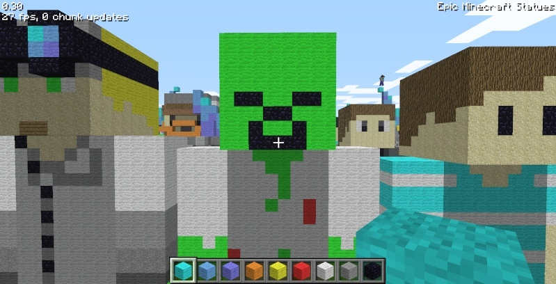 Epic Minecraft Statues Screen38