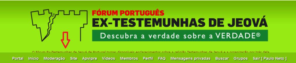 Descrição do fórum aparece no logo do Fórum. Fzsrum10