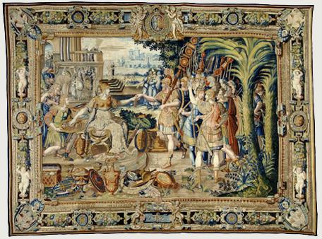 La salle des tapisseries...et des armures. P_autr13