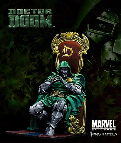 Docteur Doom Knight Models Pictur10