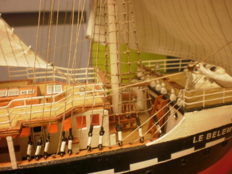 3-mâts barque Belem (Soclaine 1/75°) de legaulois P2010017