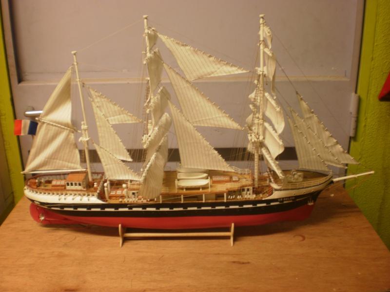 3-mâts barque Belem (Soclaine 1/75°) de legaulois P2040013
