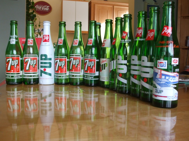 Mes bouteilles 7up Dscf2213