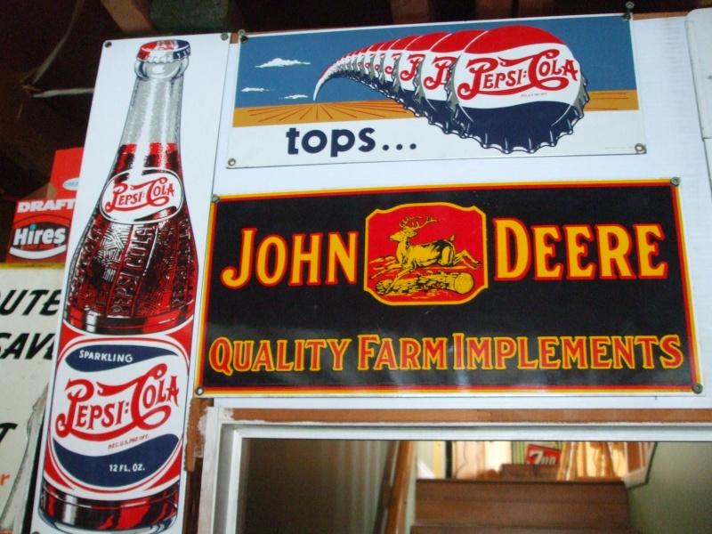 Glacière Pepsi et pancartes Pepsi Dscf2226