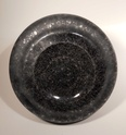 Black vase with bubble inclusions Myster15